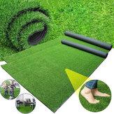 0.5x1m tapis de pelouse artificielle gazon tapis d'herbe tapis de paysage pour bricolage décoration de sol de jardin extérieur