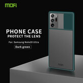 MOFI Anti-Hacker Peeping Slide Lens Cover Antichoc Anti-Scratch Translucent Matte Silicone Protective Case for Samsung Galaxy Note 20 Ultra / Galaxy Note20 Ultra 5G
