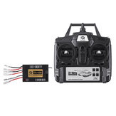 6.0S Function Mainboard +2.4G Transmitter Remote Control System Set for Heng Long 1/16 Rc Car Tank Model