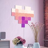 Nanoleaf Canvas 4Pack Wifi Smart LED Light Kit DIY Night Lamp Touch Voice APP Control 16 Million Color Compatible with Homekit Alexa Google Home ( Ecological Chain Brand)