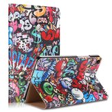 Doodle Painting Version Tablet Case voor Mipad 4 Plus