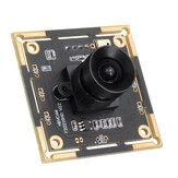 105 ° 2 millió pixeles USB kamera modul 1080P HD az arcfelismeréshez mikrofonnal 2MP széles látószögű kamera modul