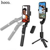 Hoco K14 Hansu stabilisateur de cardan portable Support PTZ portable Anti-secousse Intelligent support de trépied sans fil Selfie bâton pour téléphones intelligents Smartphone