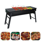 Folding BBQ Grill Charcoal Grill Stove Camping Picnic Cooking Barbecue Grills Patio