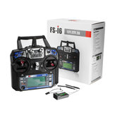 FlySky FS-i6 2.4G 6CH AFHDS RC Radion Transmitter With FS-iA6B Receiver for RC FPV Drone