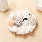 10PCS Casuale Squishy Lot Lento aumento Soft Kawaii Cute Spremere Toy Animal