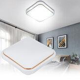 Lâmpada embutida de painel de teto LED Banheiro Cozinha Atmosférica Simples Moderno Quarto Retangular Controle Remoto Lâmpada de teto para varanda
