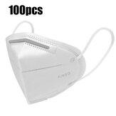 100Pcs LEIHUO Face Máscara Anti-Smog Splash Proof PM2.5 Descartável Máscara Equipamento de proteção individual