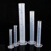 5 Pcs 10/25/50/100/250 ml Tubo De Medição De Plástico Copo Taça Balão de Laboratório Taça Copo