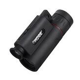 Monoculaire de téléphone portable MOGE 60x21 avec éclairage de lampe et grossissement élevé à longue portée laser