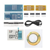 EZP2019 High-speed USB SPI Programmer Support24 25 93 EEPROM 25 Flash BIOS Chip + 2 Adapters