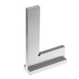 Machinist Square 90º Right Angle Engineer Carpenter Square with Seat Precision Ground Steel Hardened Angle Ruler