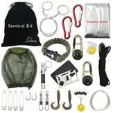 Hiking Outdoor Camping Emergency Survival Tool Set Peralatan Pertolongan Pertama Gear Kit