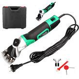 220 V 850 W 50/60Hz Koyun Elektrikli Saç Makası 6 Ayarlanabilir Hız Çiftlik Koyun Elektrikli Kesme Çiftlik Makinesi Yün Makası Set