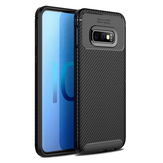 Bakeey Protective Case For Samsung Galaxy S10e 5.8 Inch Slim Carbon Fiber Fingerprint Resistant Soft TPU Back Cover