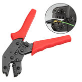 SN-06WF 0.25-6mm² 23-10AWG Crimper Plier End-sleeve Cable Clamp Locking Crimping Tool