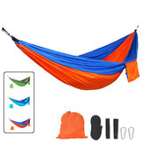 Outdoor Hanging Camping Hammocks Portable Lightweight Parachute Nylon Hiking Hammock For Backpacking Travel Max Load 150KG