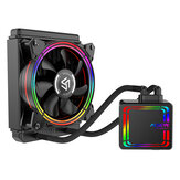 ALSEYE H120 Water Cooler RGB Water Cooling Fan Integrated CPU Cooler for LGA 775/115x/1366/2011/AM2/AM3/AM4