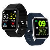 Bakeey 116 Pro 1.3 pollici Visualizzazione grande Cuore Monitoraggio della pressione arteriosa Modalità multi-sport Smart Watch