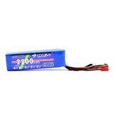 B6FPV 11.1V 2200mAh 3S Li-po Bateria para o transmissor de rádio de Wfly Radiolink AT9S