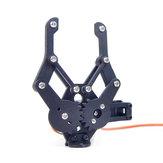 XIAO R Alumínio Alloy Manipulando Gripper Grab Robot Arm Para Modelos RC