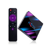 H96 MAX RK3318 4GB RAM 32GB ROM 5G WIFI bluetooth 4.0 Android 9.0 10.0 VP9 H.265 4K TV Caja Soporte Youtube 4K