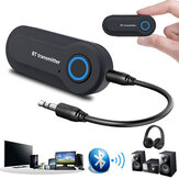 Bakeey 2 in 1 USB bluetooth Adapter Transmitter Receiver LED Indicator 3.5MM AUX Stereo For PC TV Car Headphones Wireless Adapter