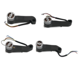 4PCS Eachine EX4 WIFI FPV RC Drone Quadcopter Spare Parts Axis Arms with Motor