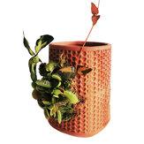 Pots de fleurs à arrosage automatique jardinières en faïence en céramique à l'intérieur de la jardinière Pots de pépinière de fleurs pour l'artisanat de plantes