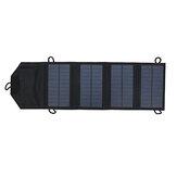 屋外作業用の10Wポリシリコンポータブル折りたたみ式ソーラーパネル