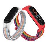 Holdmi 2-IN-1 Comfortable Nylon Watch Strap Band + TPU Watch Case Cover Replacement for Xiaomi Mi Band 5 / Xiaomi Mi Band 4 / 3 Non-original