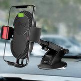 5W Qi Draadloos opladen Zuignap Lange arm Uittrekbare houder voor autohouder voor iPhone mobiele telefoon