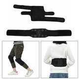 TomalinElectricHeatingUnisexPaddo kolan Cieplej Magnetic Thermal Massage Therapy Pain Relief Talii Support Belt