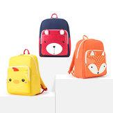 Xiaoyang 12L Anak Anak Sekolah S-bentuk Shoulder Strap Bag Waterproof Rucksack dari xiaomi youpin