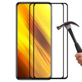 ENKAY 1/2/5/10 Pcs 9H Crystal Clear Anti-Explosion Anti-Scratch Full Glue Full Coverage Tempered Glass Screen Protector for POCO X3 NFC Non-original