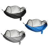 Rede anti-mosquito de abertura rápida automática 270 * 140Cm Rede anti-mosquito Rede anti-mosquito Acampamento ao ar livre com varas de barraca