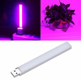 2.5W 14 LED USB Full Spectrum Vermelho: Azul 10: 4 Grow Light para Indoor Hydroponic Flower Planta DC5V