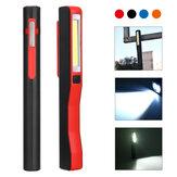 3WCOB+1W LED USB Magnetische Werklamp Outdoor Camping Emergency Zaklamp Nacht Inspectie Lamp