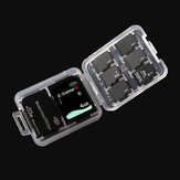 Memory Card Storage Box Case Organizer for 1xSD Card 6xMicro SD Card 1xMemory Stick