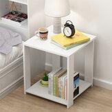 Mini armadietti a uno o due strati Comodino comodo per riporre il piano di lavoro spazioso per la casa