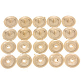 10pcs Belt Buckle Clip Retainer Zadel Riem Stop Button Beige Plasti Voor Lincoln