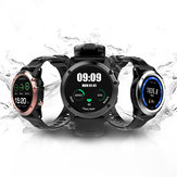 Microwear H1 1.39 pulgadas Super AMOLED 4GB GPS 3G WIFI Cámara IP68 Corazón Rate Monitor Reloj inteligente