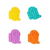Nieuwe multi-color Push Bubble Zintuiglijke Grappige Stress Reliever Onderwijs Puzzel Fidget Speelgoed voor Volwassenen Kinderen Creatieve Geschenken