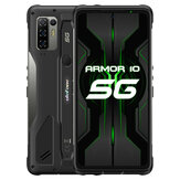 Ulefone Armor 10 5G IP68 IP69K Waterproof 6.67 inch 8GB 128GB 64MP Quad Camera NFC 5800mAh 15W Wireless Charge MTK Dimensity 800 Octa Core Rugged Smartphone
