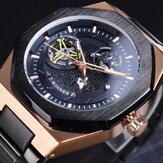 GMT1189 Classic Reloj de pulsera de metal completo para hombres Estilo empresarial Reloj automático Mecánico