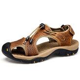 Męskie oddychające, wygodne, odporne na zużycie podeszwy zewnętrzne sandały haczykowate buty