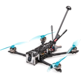 Flywoo Explorer LR 4 '' 4S Micro Long Range FPV Racing RC Drone Ultralight Quad c / Caddx Ant 600mw VTX GOKU 16X16 Micro Stack