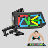 KALOAD 13-in-1 Electronic Counting Push-up Stands Support Board  Protable Multifunction Abdominal Muscle Trainer Folding Fitness Bracket Sports Home