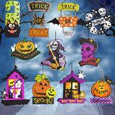 Halloween Spoof Hangende Decoraties Pompoen Ghost Skull Witch Door Hanger Halloween Supplies