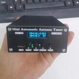 موالف ATU100 Automatic هوائي الجديد 100 واط 1.8-30 ميجا هرتز مع البطارية من الداخل مجمعة لمحطات الراديو ذات الموجات القصيرة 5-100 واط